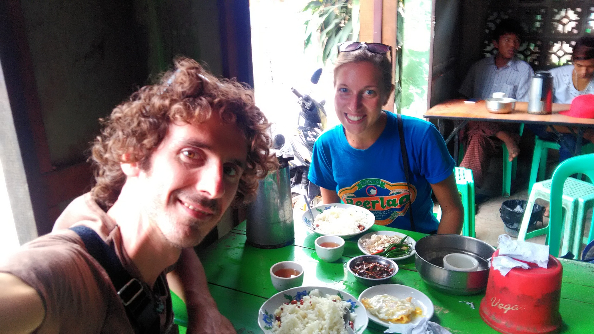 Lunch near Mandalay
