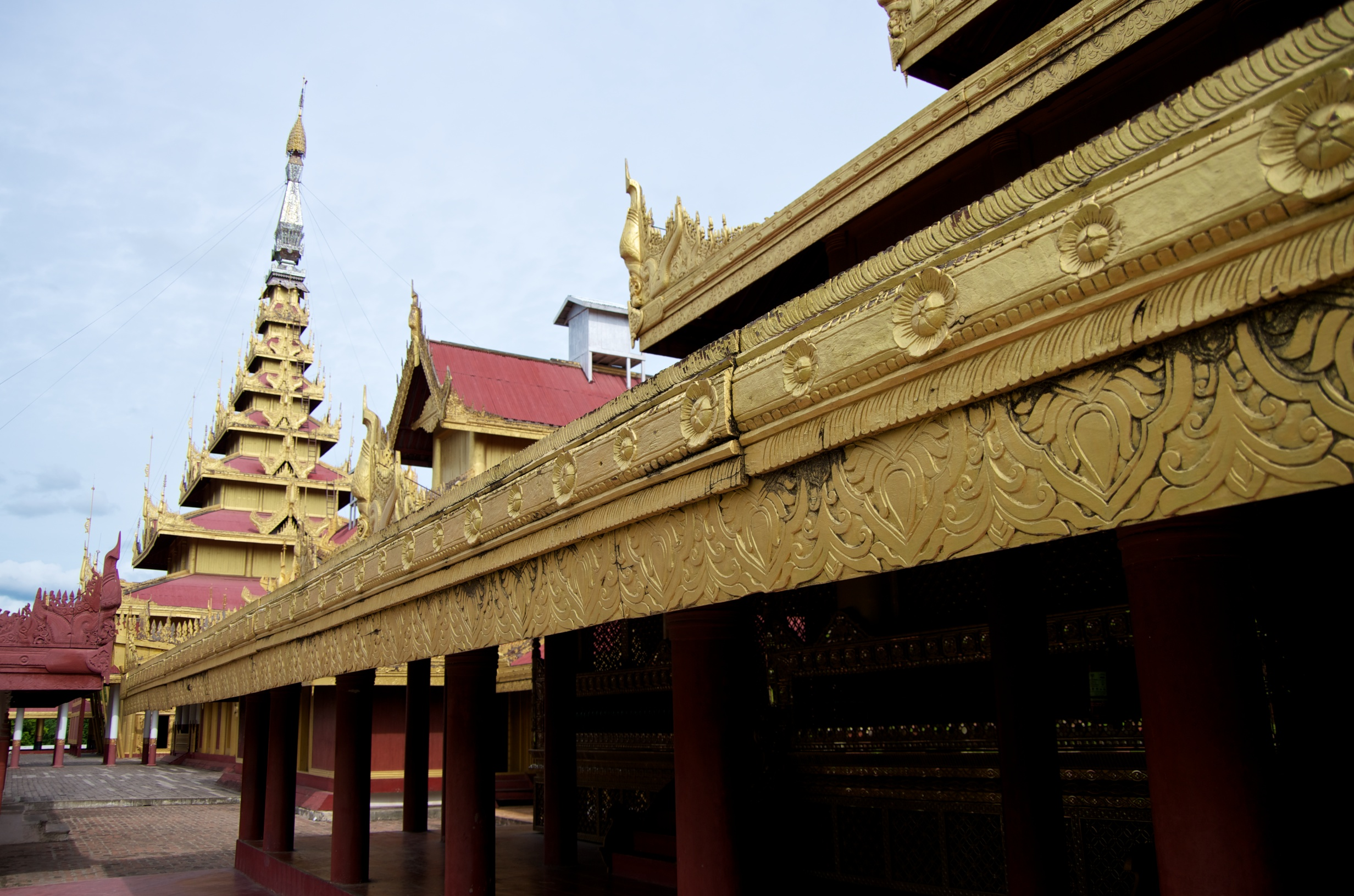 Mandalay city palace